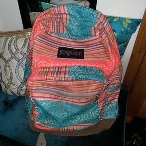 🆕 Jansport Colorful Backpack